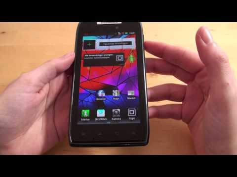Motorola RAZR - Handy Text - Review - Deutsch