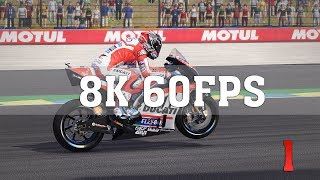 MotoGP 17 8K PC Gameplay - No. 1 | TRUE 8K (7680x4320) | Titan Xp 4 Way SLI | ThirtyIR
