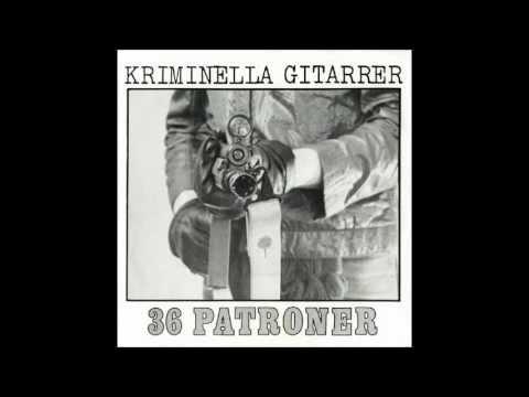 Kriminella Gitarrer 36 Patroner Svetsad