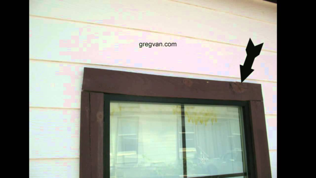 Moist Lumber Can Create Problems For Siding Window Trim
