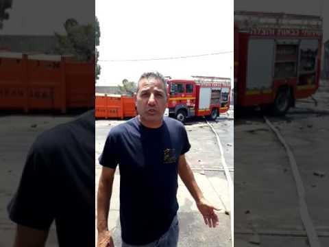 Eyewitness report on blaze (Media Resource Group)