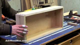 How To Make Plywood Boxes 55 of 64 Woodworking project for kitchen cabinets, desks, etc...
