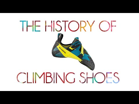 The History of Climbing Shoes