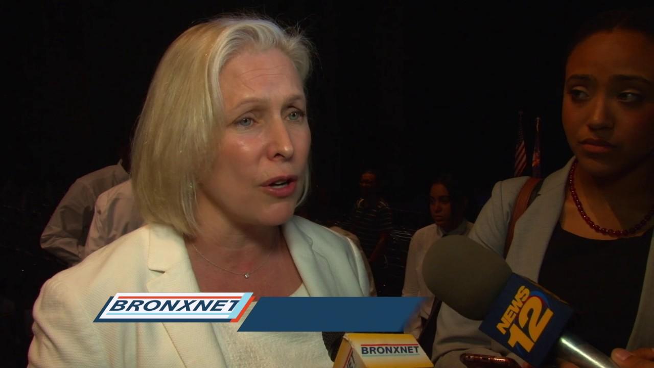 Senator Kirsten Gillibrand Holds Town Hall Meeting
