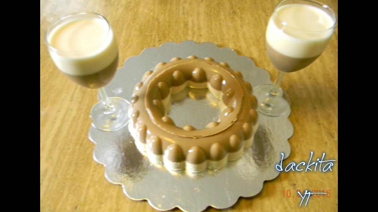 Suficiente gelatina de cafe con leche condensada - YouTube CK17