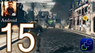 Brothers In Arms 3: Sons of War Android Walkthrough - Part 15 - Chapter 4 Clean Up, Chapter 3 Raid