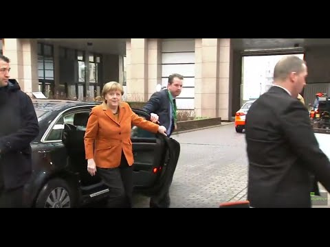 LIVE: EU-Turkey migration summit in Brussels: Arrivals