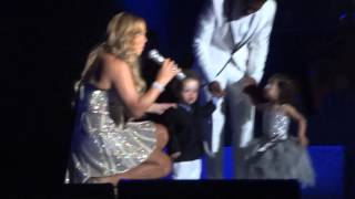 Mariah Carey brings Roc & Roe onto stage - Gold Coast 1/1/13