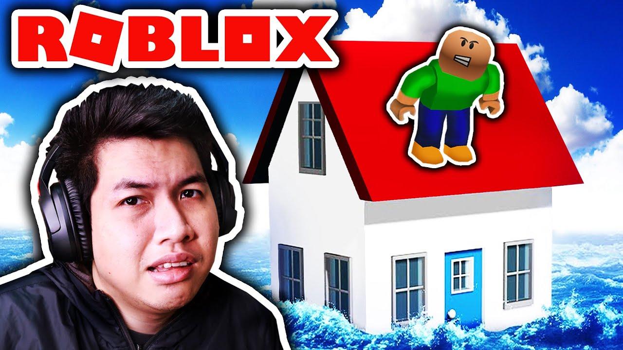 น้ำท่วมบ้านคุณครู (Roblox)