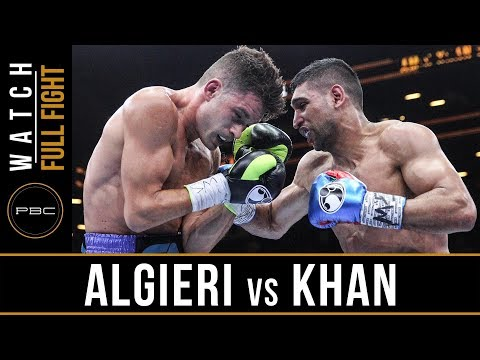 Algieri vs Khan FULL FIGHT: May 29, 2015 - PBC on Spike