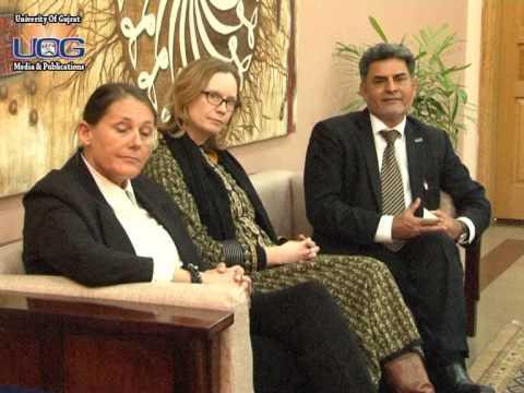 The Visit of Norwegian Delegation at University of Gujrat