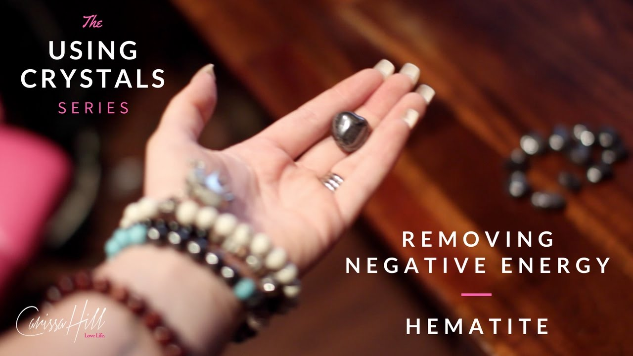 How to get rid of negative energy using crystals youtube How to get rid of bad energy