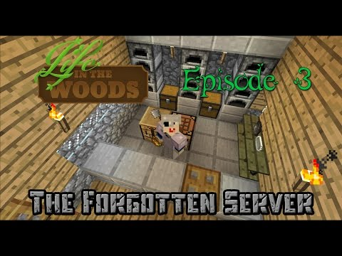 Minecraft - Life In The Woods - Episode 3 - I has cheezburger!