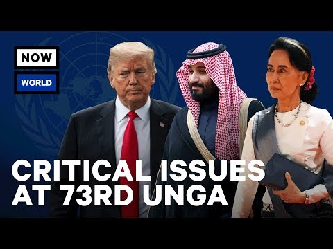 UN General Assembly 2018 – 5 Key Global Issues | NowThis World
