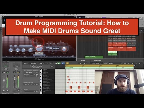 Drum Programming Tutorial: How to Make MIDI Drums Sound Great thumbnail