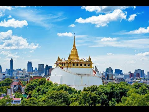 Buddhist Pilgrimage : Wat Saket Rajavaramaha Vihara: The Golden Mount