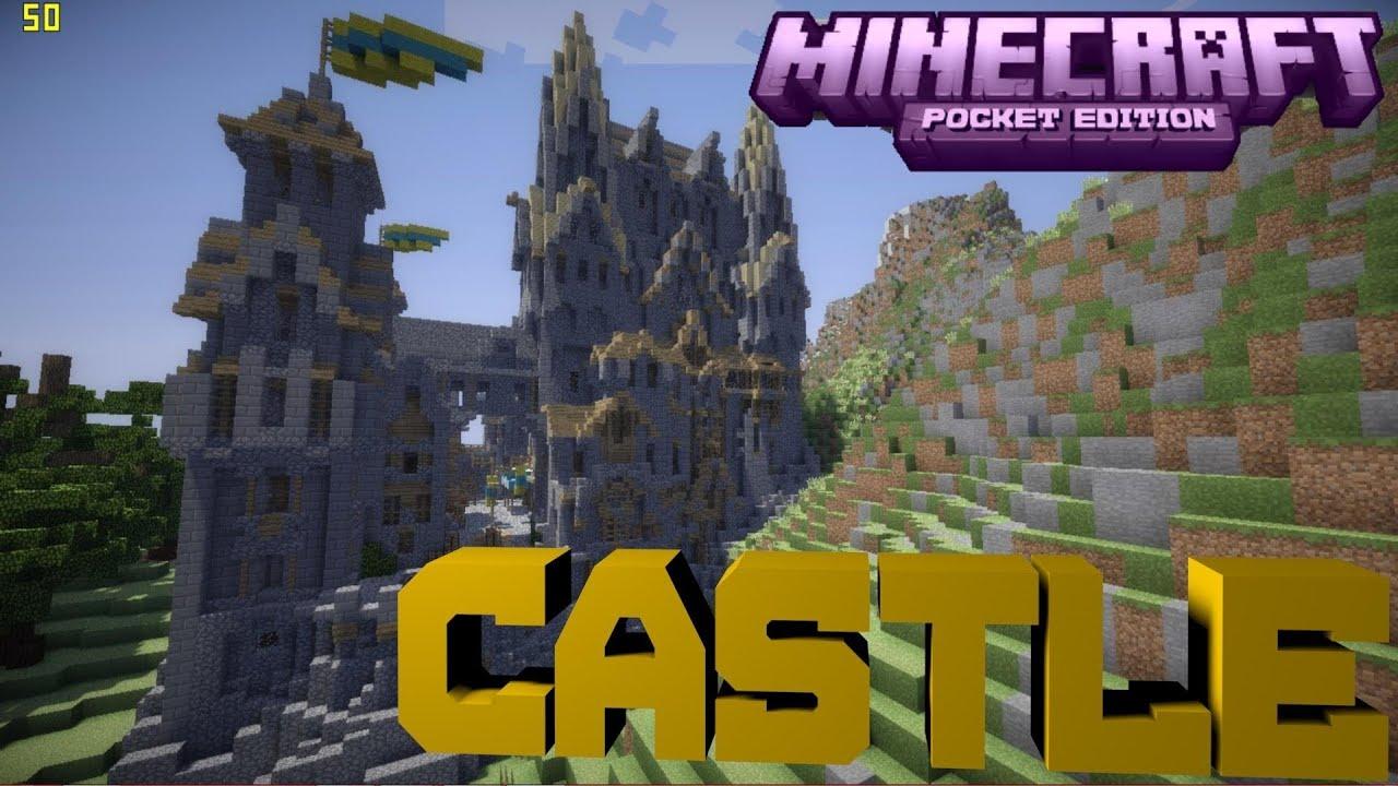 Minecraft PE Castle [DOWNLOAD] - YouTube