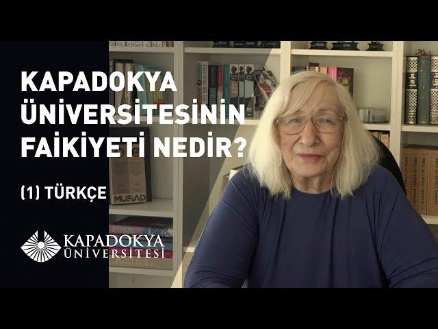 Kapadokya Üniversitesi'nin Faikiyeti Nedir? - Türkçe | Alev Alatlı | Kapadokya Üniversitesi