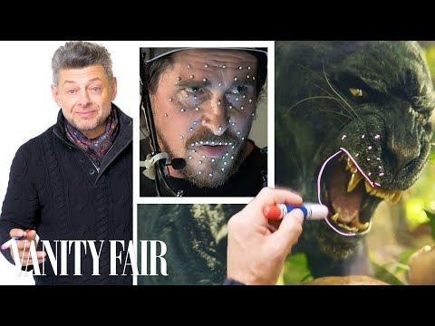 Andy Serkis Explains Christian Bale's Motion Capture Performance in Mowgli | Vanity Fair