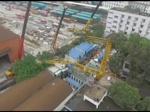 12 Dead, 2 Missing in Guangdong Construction Site Collapse