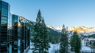 RESORT AT SQUAW CREEK Ski-in Ski-out Squaw Valley Lake Tahoe California | Snowboard Traveler