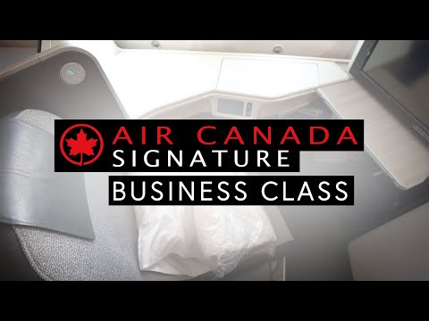 Air Canada 787 Signature Business Class