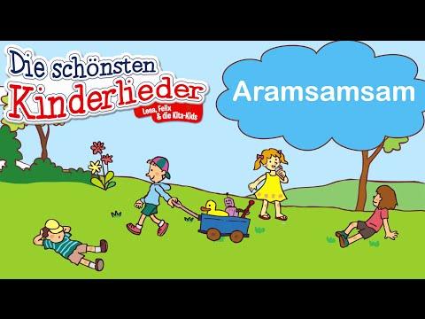 Aramsamsam | Kinderlied mit Text zum mitsingen