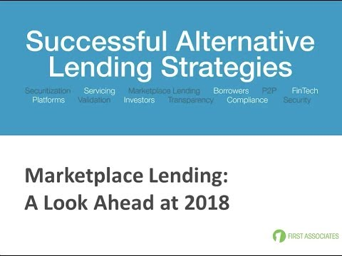 Marketplace Lending Look Ahead at 2018
