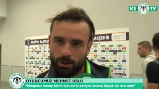 Oyuncularımızın Medipol Başakşehir maçı sonrasındaki açıklamaları