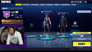 Chance and Anthony get a 100K Donation Playing Fortnite Live reaction