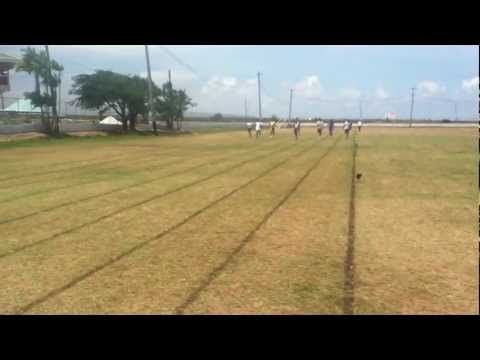 Central High School Guyana 2012 Sports- 100 Meters Boys/Men.mp4