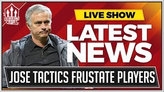 Man Utd Players Furious With Mourinho! Man Utd News Now