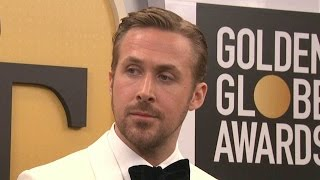 Ryan Gosling 'Grateful for the Opportunity' to Dedicate Golden Globes Win to Wife Eva Mendes