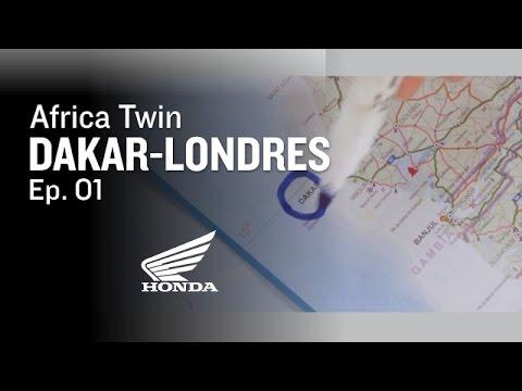 Dakar-Londres de Africa Twin - EP 1