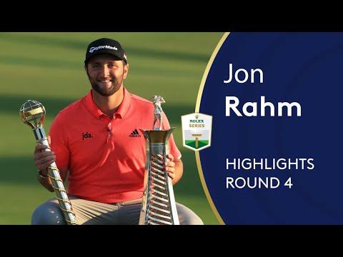 Jon Rahm Wins $5million In Dubai | Winning Highlights | 2019 DP World Tour Championship, Dubai