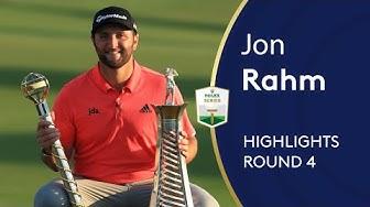 Jon Rahm wins $5million in Dubai   Winning Highlights   2019 DP World Tour Championship, Dubai