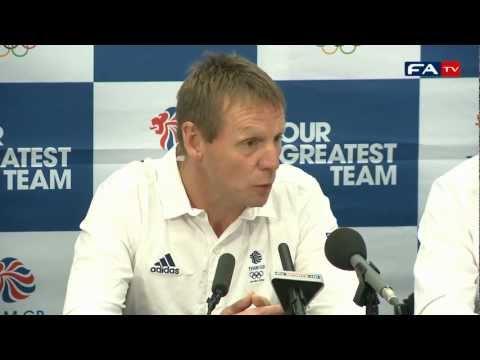 Pearce confirms Team GB Squad   London Olympics 2012 Football