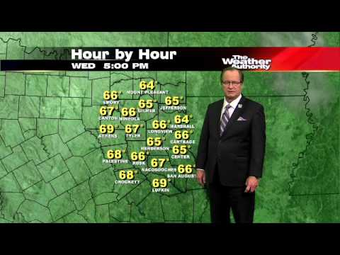 CBS19 - Tyler & East Texas Evening Weather Forecast March 26, 2013