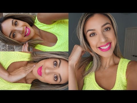 Get Ready with Me | Makeup for bright lip colors!