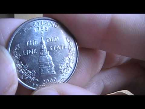 United States Maryland State Quarter