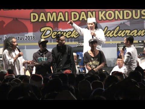 Sinau Bareng CAK NUN & Kiyai Kanjeng LIVE GOR Satria Purwokerto 2 Agustus 2018 PART 4