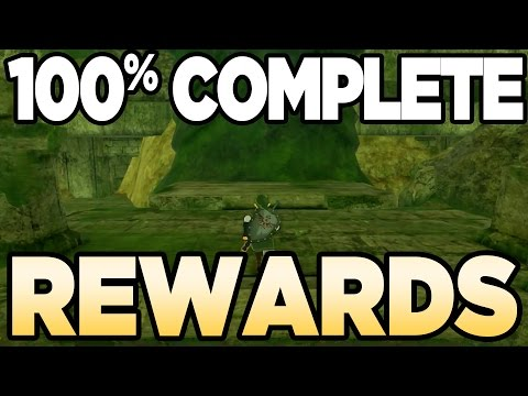 100% Complete Rewards for Breath of the Wild | Austin John Plays