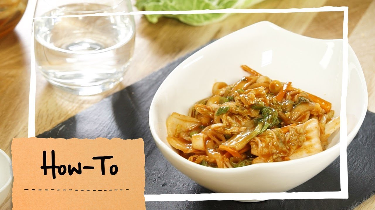 How To: Kimchi selber ...