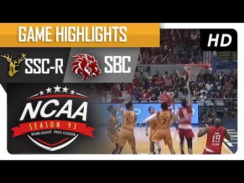 SSC-R vs. SBC | NCAA 93 | MB Game Highlights | July 8, 2017