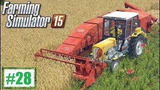 Kombajn Bizon Z020 ''Zagon'' - Farming Simulator 15 #28, gameplay pl