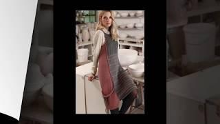 Модели вязания. Модный сарафан спицами