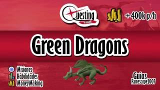 OSRS Guía en español - Green Dragons + de 400k p/h
