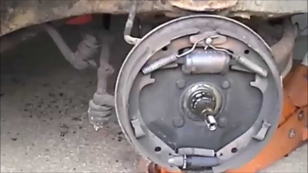 1956 bel air drum brakes 1 - YouTube