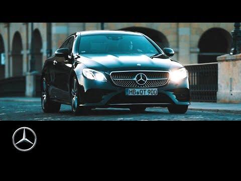 Mercedes-Benz E-Class Coupé: The Beauty of Switzerland | #MBvideocar.