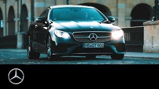 Mercedes-Benz E-Class Coupé: The Beauty of Switzerland | #MBvideocar.